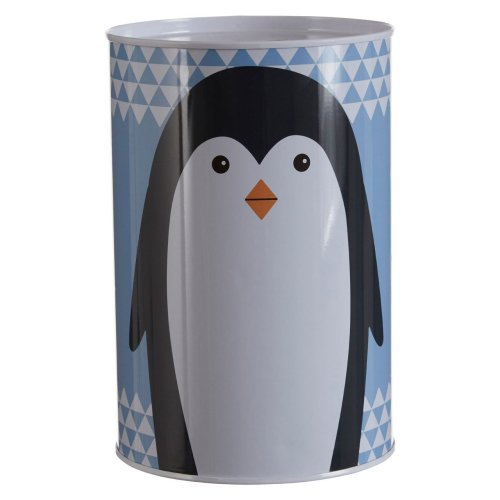 Parker The Penguin Money Tin, Blue
