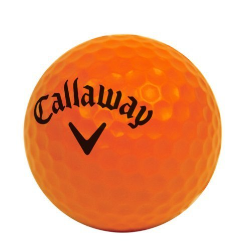 Callaway HX 9-Pack Practice Ball, Orange