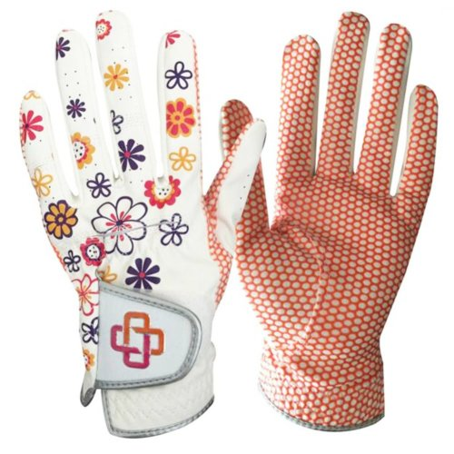 1 Pair Of Female Golf Gloves Non-slip Resistant Dirt Gloves-g