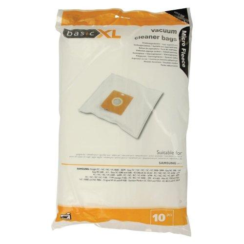 Pack of 10 Vacuum Cleaner Bags for Samsung VP77 Vacuum Cleaners