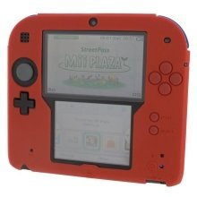 ZedLabz Silicone Protective Cover for Nintendo 2DS - Red