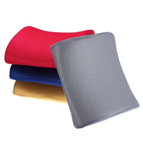 Breathable Memory Foam Lumbar Support Seat Back Cushion for Office Home Car Seat Chair
