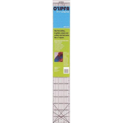 """O'Lipfa Lip Edge Ruler 3""""x18""""-3""""X18"""""""