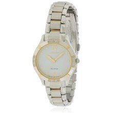Citizen Eco-Drive Diamond Two-Tone Ladies Watch EM0454-52A