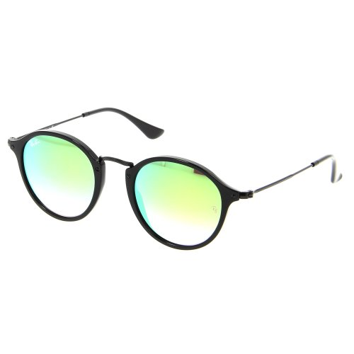 Ray-Ban Round Fleck Flash Lenses Gradient Sunglasses RB2447-901/4J-49