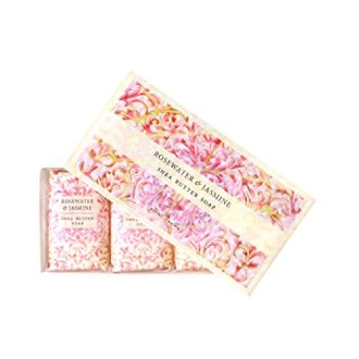 Greenwich Bay Trading Co. Shea Butter Soap, 12.9 Ounce, Rosewater &Amp; Jasmine, 3 Pack