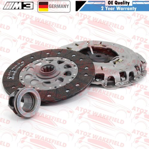 FOR BMW M3 E46 3.2 BRAND NEW OE QUALITY 3PC CLUTCH KIT BEARING SET 21212282667