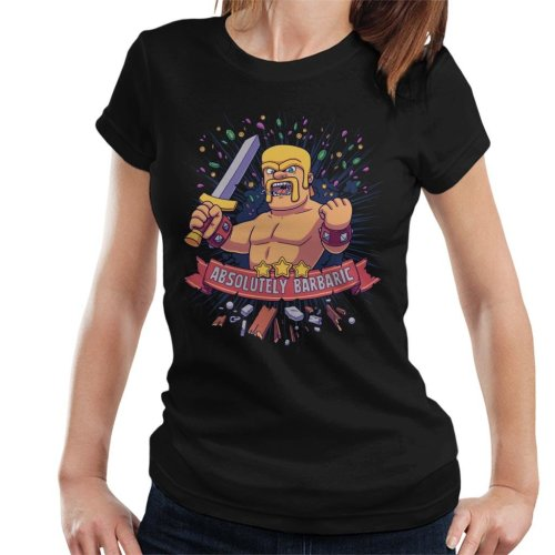 Absolutely Barbaric Clash Of Clans Women's T-Shirt