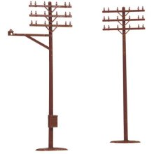 ATLAS MODEL 775 Telephone Poles HO (12)