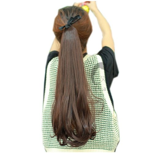 50Cm Long Ponytail Wig Extension for Women