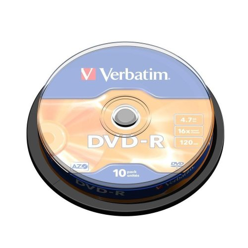 Verbatim DVD-R Matt Silver 4.7GB DVD-R 10pc(s)