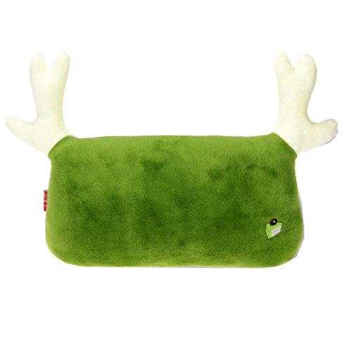 Simple Design Car Headrest/Car Neck Pillow ,(Lovely Elk) Matcha Green
