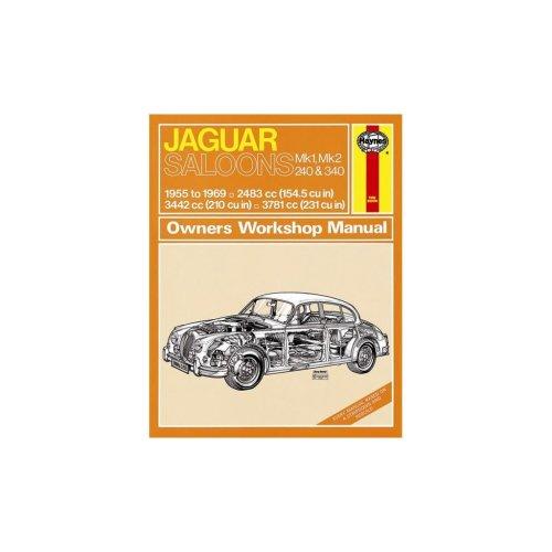 Jaguar MKI & II, 240 & 340 (55 - 69) up to H Reg - Classic Reprint Only