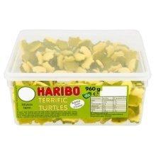 Haribo Terrific Turtles 960g 300 Sweets