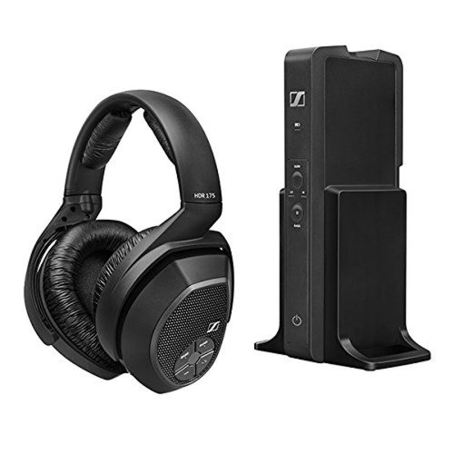 Sennheiser RS175 Surround Sound Wireless Over-Ear Headphones - Black