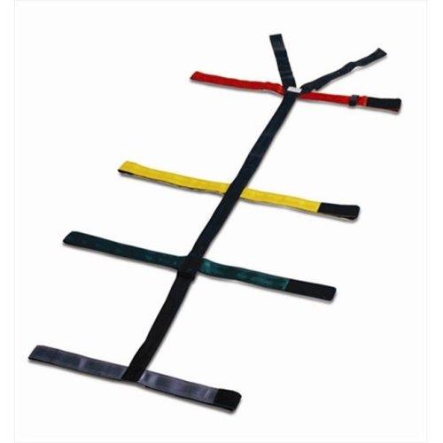 Kemp 10-308 Spine Board 10 Pt Spider Strap-Multi Color