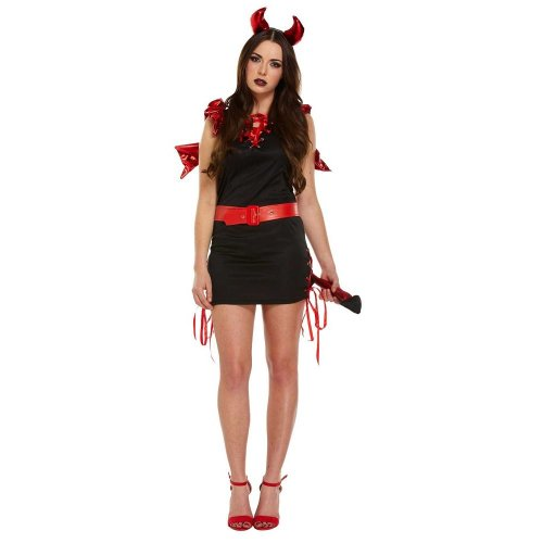 D/Up Adult Sexy Devil Red/Black