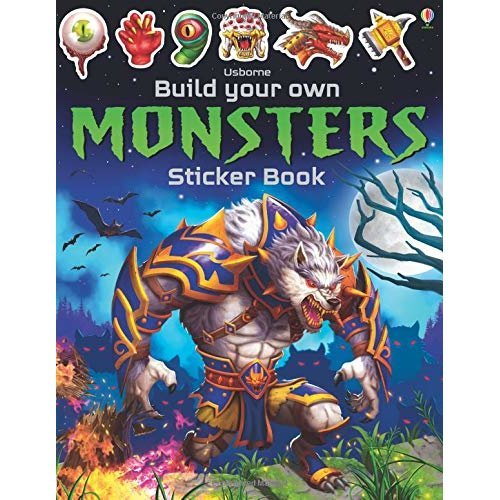 Build Your Own Monsters Sticker Book (Build Your Own Sticker Book)