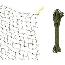 Trixie Protective Net, Woven In Wire, 2 x 1.5 M, Olive Green - Net Cat Cats -  net trixie cat cats balconies terraces windows protective wire