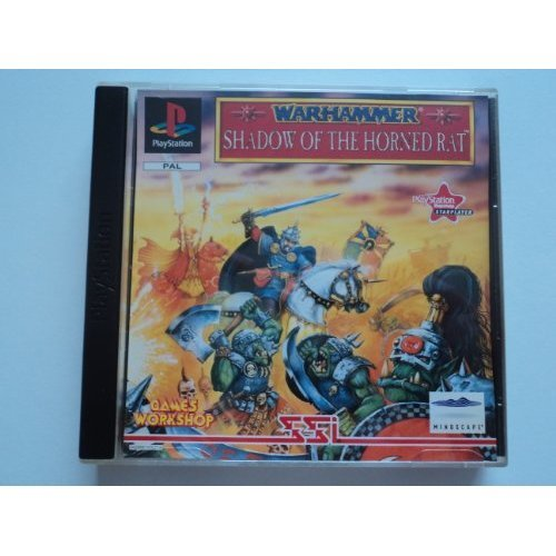 PS1 Warhammer Shadow of the Horned Rat (Playstation)