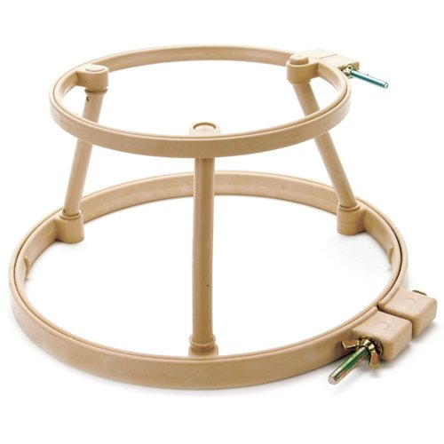 "Morgan Lap Stand Combo 10"" & 14"" Hoops-"