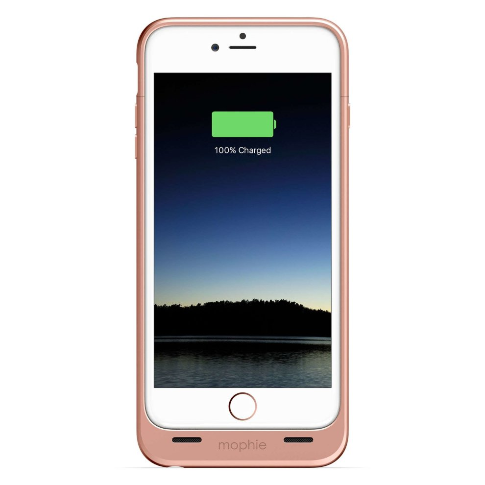 reputable site 3522c 380fc mophie juice pack Compact Battery Case for iPhone 6 Plus / 6S Plus - Rose  Gold