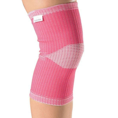 Vulkan Advanced Elastic Womens Female Knee Sports Injury Support Pink