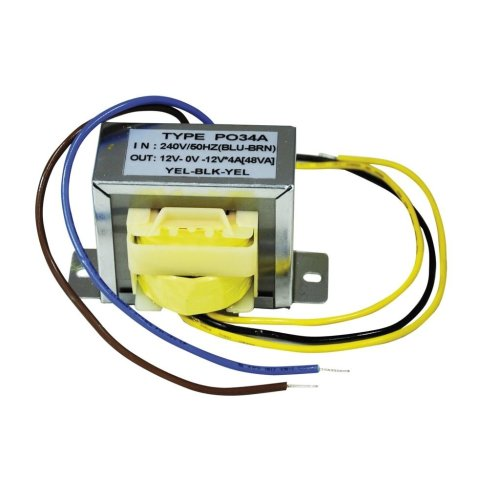 Safety Isolating Transformers - Outputs (V ac) 12-0-12