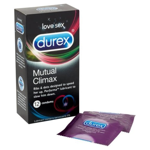 Durex Mutual Climax Condoms - Pack of 12 Condom
