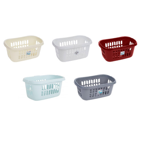 Plastic Laundry Hipster Basket Washing Clothes Hamper Storage Bin