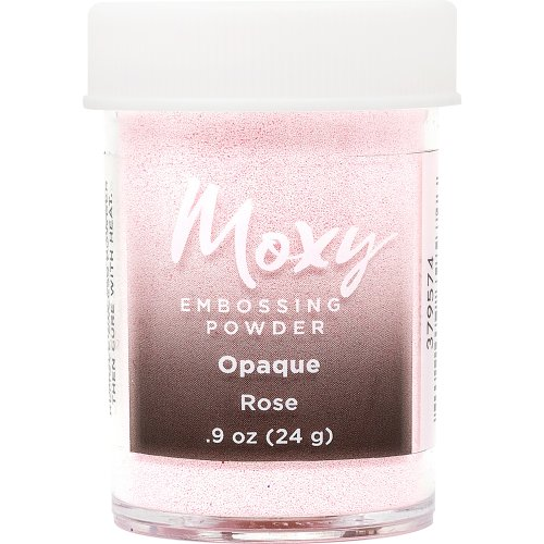 Moxy Opaque Finish Embossing Powder 1oz-Rose
