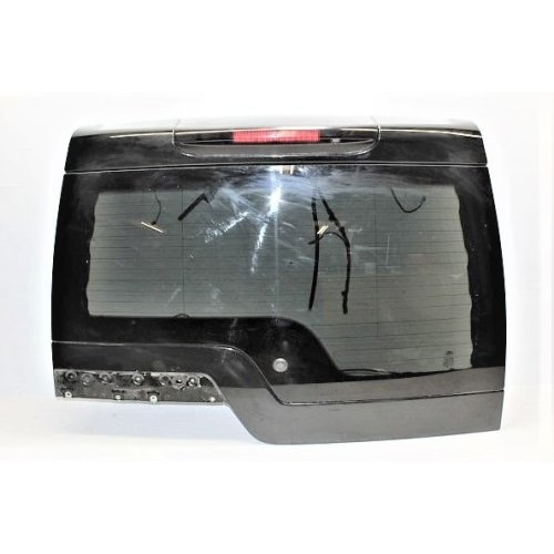 2010 LAND ROVER DISCOVERY 4 UPPER TAILGATE WITH GLASS LRC820 SANTORINI BLACK