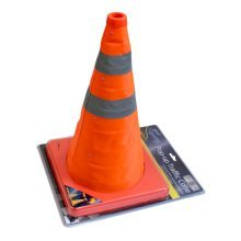 "15"" Portable Pop Up Traffic Cone - Safety Road Emergency Pop 400mm Collapsible -  traffic cone safety road pop up emergency popup 400mm collapsible"