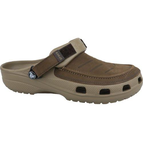 Crocs Yukon Vista Clog 205177-22Y Mens Brown slides