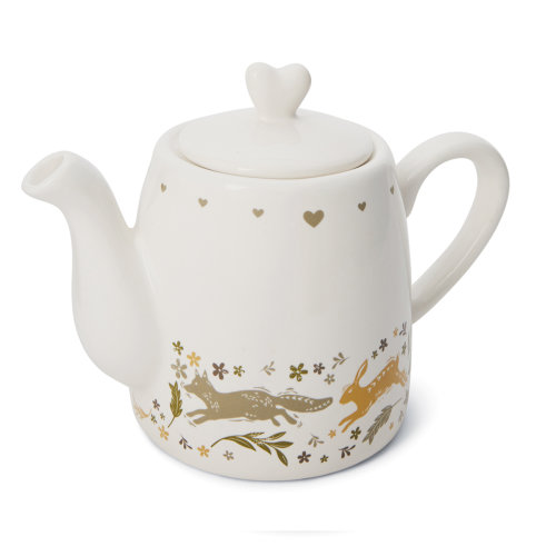 Cooksmart Woodland Teapot