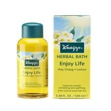 Kneipp Enjoy Life Herbal Bath Oil 100ml (lemon & May Chang)