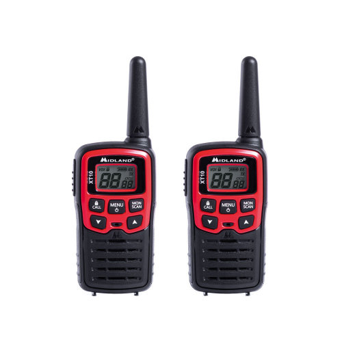 PMR Portable Radio Station Midland XT10 set with 2 pieces of code C1176