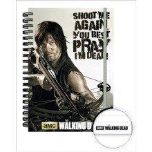 The Walking Dead Crossbow A5 Notebook