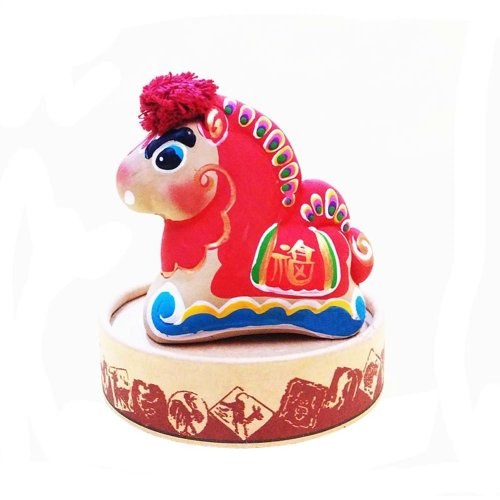 Clay Sculpture Zodiac Ornaments Chinese Characteristic Toy Clay Figurines