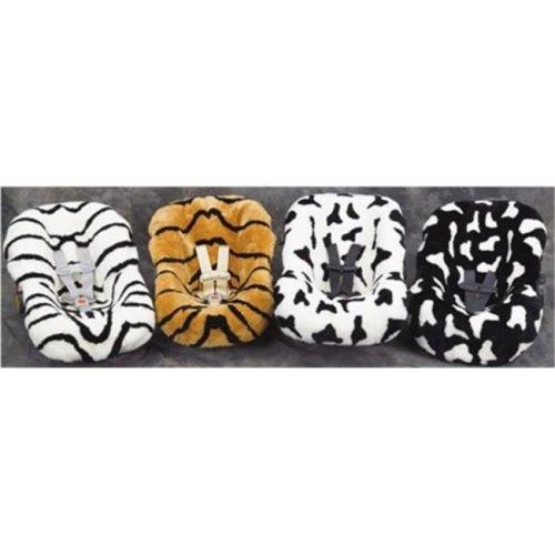 Full Tailored Exotic Universal Infant Seat Cover, Zebra