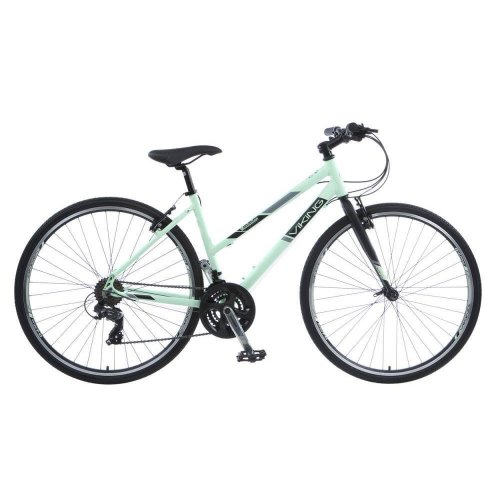 Viking Manhattan Ladies 700c 21 Speed Alloy Urban Hybrid Bike RRP £299.99