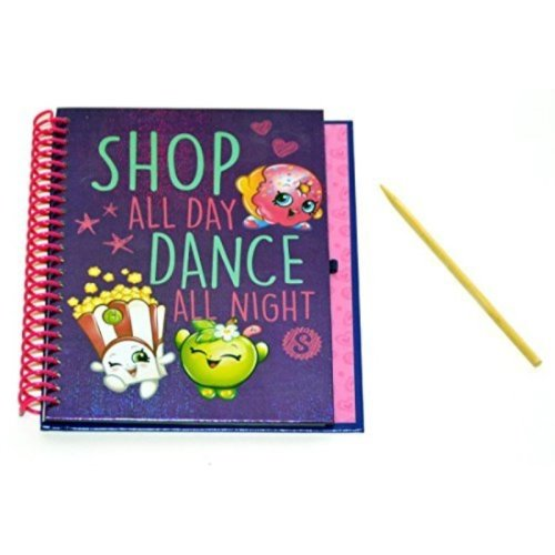 Shopkins Scratch & Sticker Journal