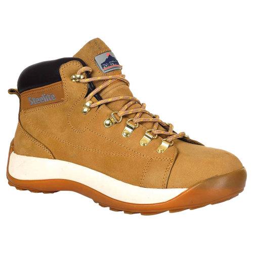 sUw - Steelite Mid Cut Nubuck Workwear Ankle Safety Boot SB HRO