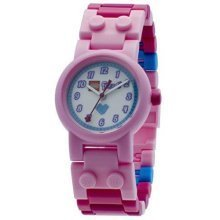 Lego Friends Stephanie childrens quartz Watch with minidoll white Dial analogue