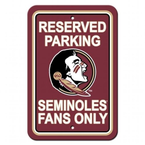 Fremont Die 40299 Florida State Seminoles Plastic Parking Sign