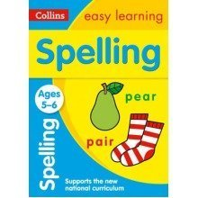 Collins Easy Learning Ks1: Spelling Ages 5-6