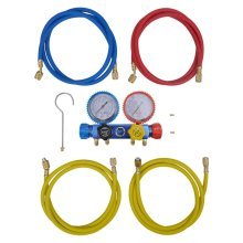 4-way Manifold Gauge Set for Air Conditioning