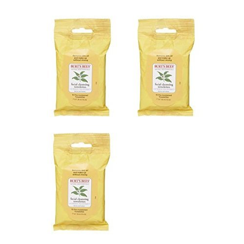 Burts Bees Cleansing Facial Cleansing Towelettes