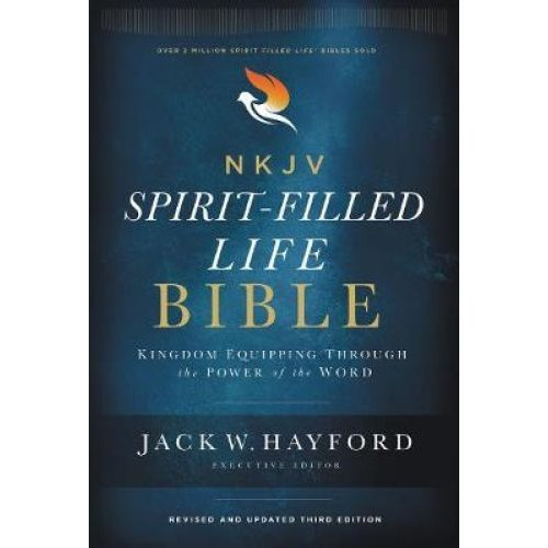 NKJV, Spirit-Filled Life Bible, Third Edition, Hardcover, Red Letter Edition, Comfort Print