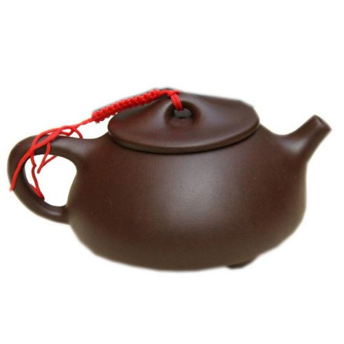 Chinese Purple Clay Teapot with 2 Cups 8.5 OZ